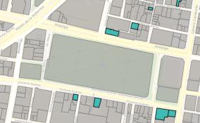 Foto: Mapa Plaza de Santa Veracruz